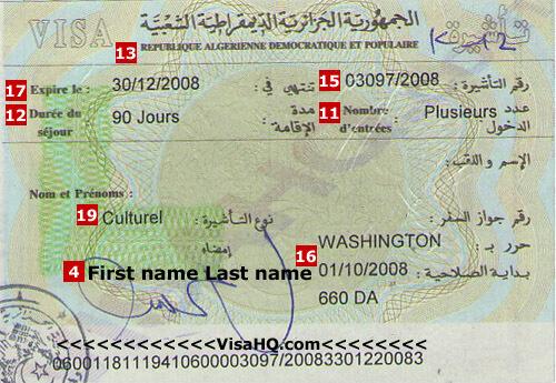 Algeria Visa Application Requirements Residents Of India Visahq