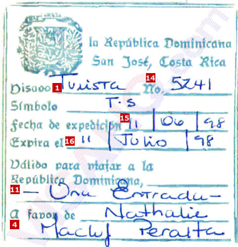 Dominican Republic Visa