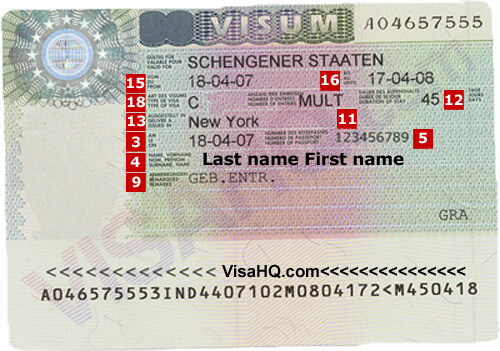 Germany Visa Application Requirements Residents Of India Visahq