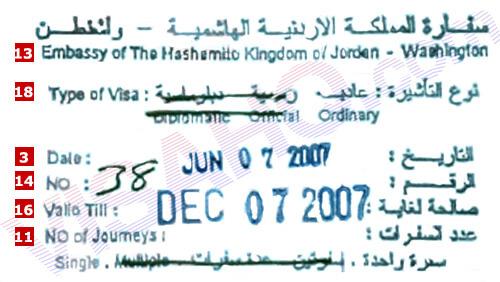 Embassy Of Jordan In India Visahq